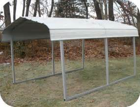 Small Metal Shelters Rhino Shelters 7x10x6 Steel Auto Carport Kit St071006h