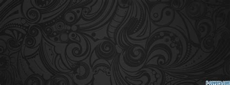 pattern black grey black and grey swirl pattern doodles facebook cover