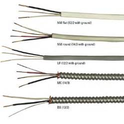 electrical cable and wire types colors and sizes electrical project planning prep home