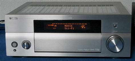 yamaha rx   channel network home theater receiver