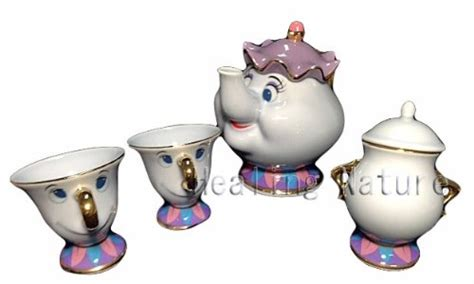 beauty and the beast pot tea set chip mrs potts beauty beast pot cup disney resort