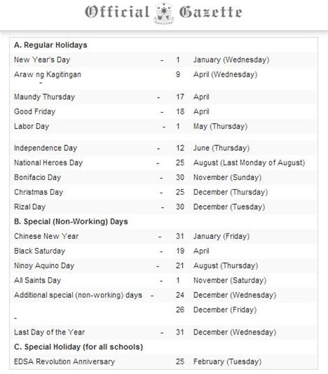 printable calendar 2014 with philippine holidays image gallery september holidays 2014
