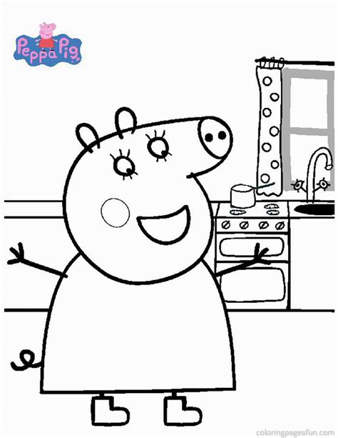 peppa pig birthday coloring pages peppa pig coloring pages birthday printable