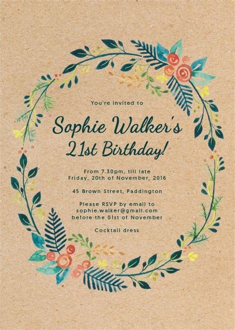 Invitation Design Adelaide | birthday party invitations independent designs printed