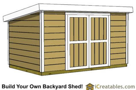 Free 8x12 Shed Plans by 8x12 Shed Plans Buy Easy To Build Modern Shed Designs