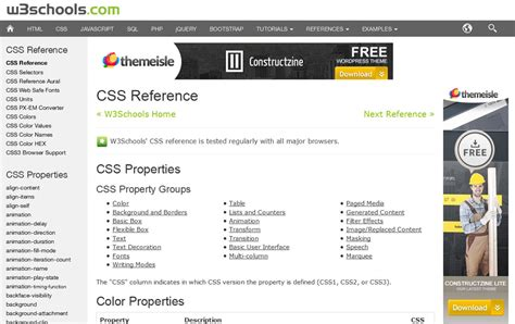 html tutorial reference download free referencing css in html file
