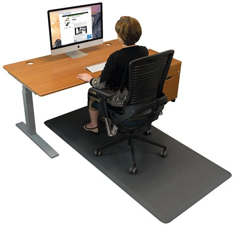 padded mat for standing desk standing desk anti fatigue comfort floor mat the best