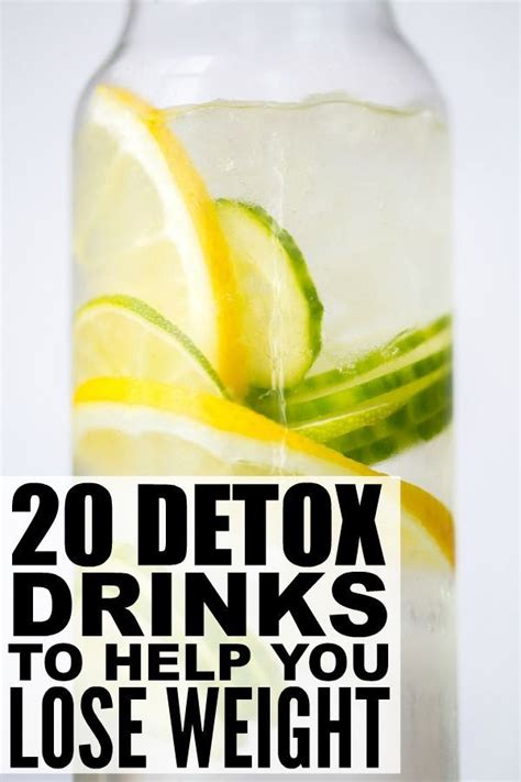 Detox Cleanse Drink For by 20 Detox Drinks To Help You Lose Weight Dr Oz Drinks