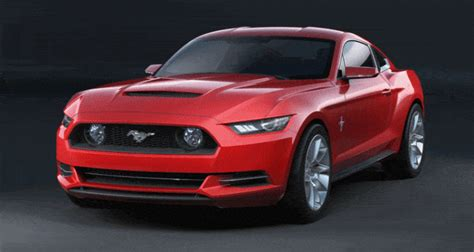 mustang gift concept to reality 2015 ford mustang sketches that led to