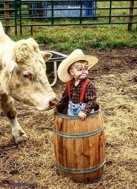 rodeo clown baby costume