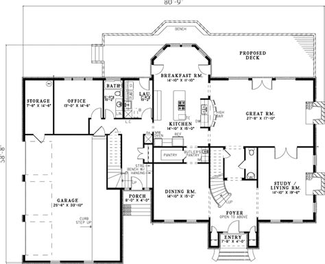 sugarberry georgian home plan 055s 0098 house plans and