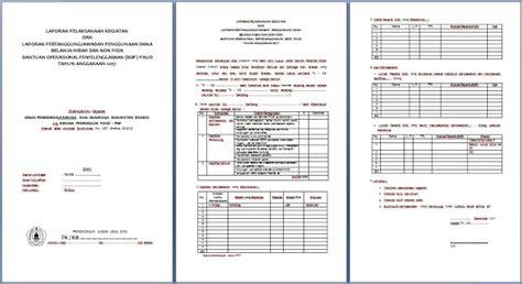 format laporan bop paud 2017 format lpj bop paud lengkap dan terbaru arsip paud
