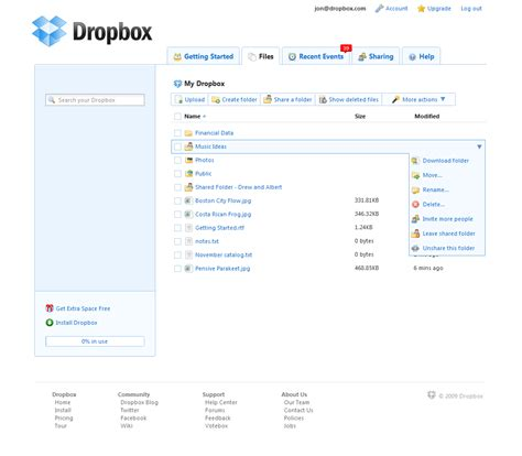 dropbox online only dropbox online file store