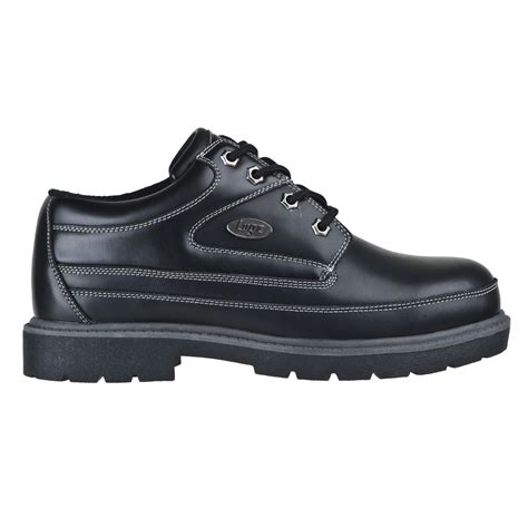 lugz mission sr mens shoe black charcoal stylish footwear