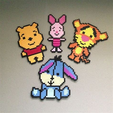 disney perler winnie the pooh and friends hama perler by