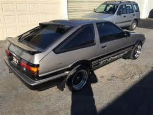 Craigslist Toyota 1985 Toyota Corolla For Sale On Craigslist Used Cars For