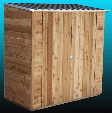 Cedar Shed Cedar Shed Birch 6x3 S3001 865 00 Landera Outdoor