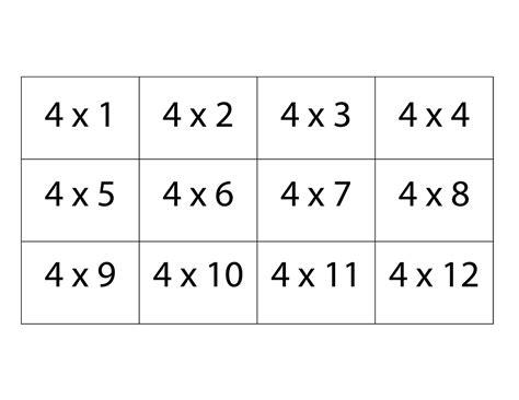 free multiplication flash cards 3 dinosaurs