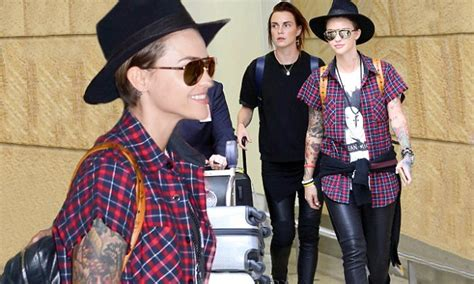 sydney tattoo expo promo code ruby rose displays her tattoos as she arrives in sydney