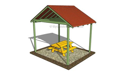 outdoor shelter plans 50 free diy picnic table plans for kids and adults