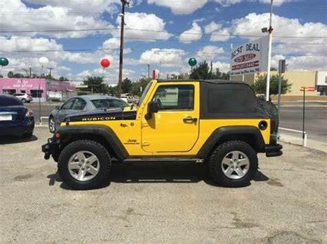 jeep parts el paso jeep wrangler for sale el paso tx carsforsale