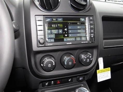 jeep radio 2011 2017 jeep compass patriot factory gps navigation