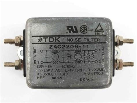 Tdk Noise Filter Zcw 2220 01 tdk zac2206 11 noise filter recycledgoods