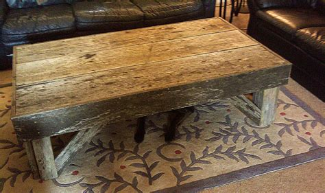 How To Make A Reclaimed Wood Coffee Table Reclaimed Wood Coffee Table