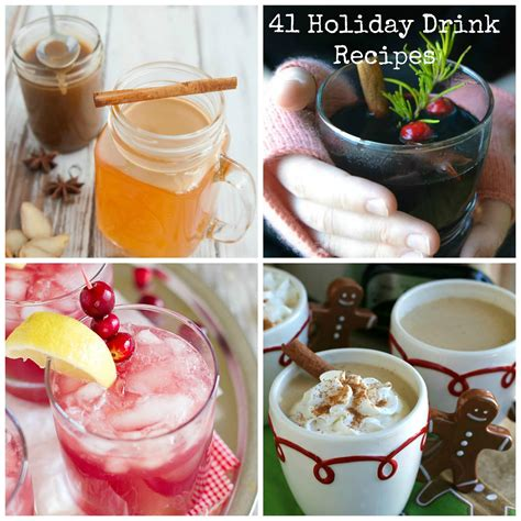 41 holiday drink recipes a cedar spoon