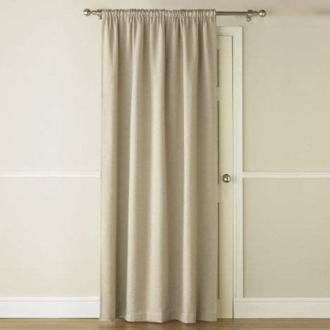 self made curtains blackout thermal natural door curtain tonys textiles