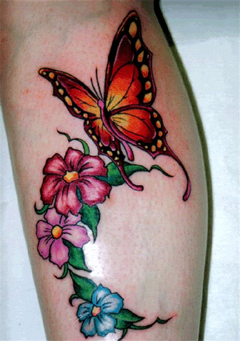 tattoo flower and butterfly designs 50 butterfly tattoos with flowers for women nenuno creative