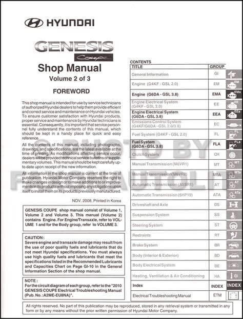 manual repair autos 2010 hyundai genesis coupe free book repair manuals 2010 hyundai genesis coupe repair shop manual 3 volume set original