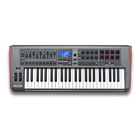 Usb Midi Keyboard Controllers novation impulse 49 keyboard