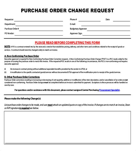 change request template 14 change order templates free sle exle format