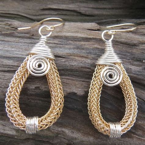 viking knitting wire jewelry 574 best viking knit weave images on wire