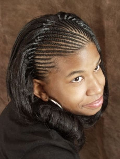 Braided Hairstyles With Weave For Teenagers by Braided Weave Hairstyles