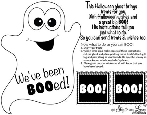 printable boo directions letter boo the neighbors search results dunia photo
