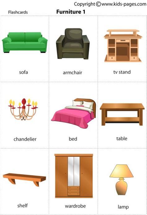 furniture1 flashcard