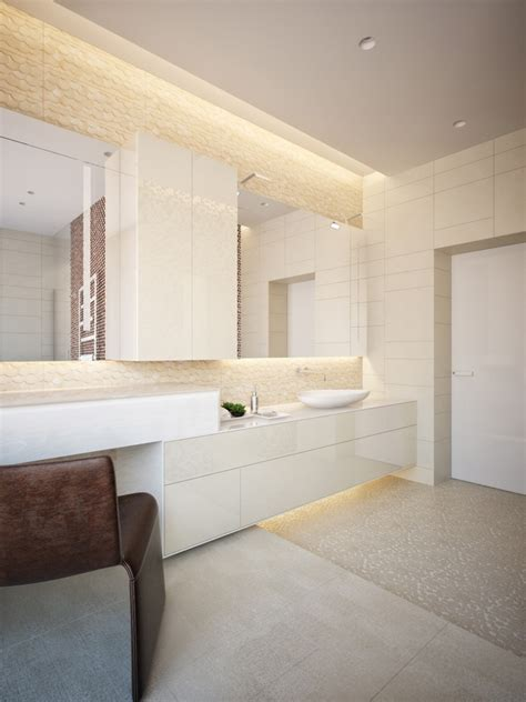 led light fixtures tips and ideas for modern bathroom