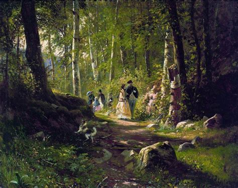 a walk in the a walk in the forest ivan shishkin wikiart org encyclopedia of visual arts