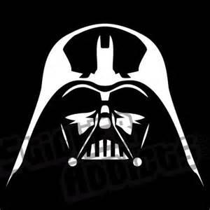 Darth Vader Outline by Darth Vader Mask Printable Vader Helmet Outline Sticker Addicts Vinyl Decals And Stickers For