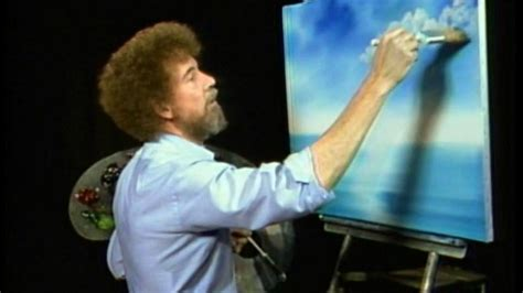 tv bob ross painting bob ross lives on as twitch continues to classic
