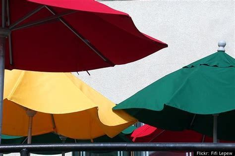 The Best Way To Clean Patio Umbrellas Huffpost How To Clean Patio Umbrella