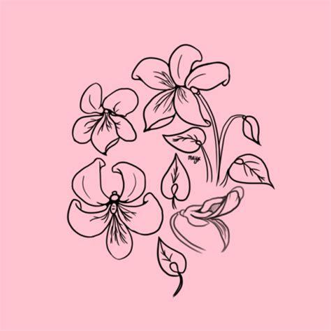 flower tattoo tumblr pink flower
