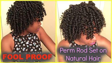 perm rod on natural hair nh rod sets pinterest fool proof perm rod set on natural hair for beginners