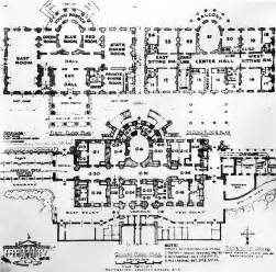 Floor Plan Of The White House residence white house museum
