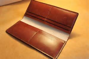 How To Make Handmade Wallets - a leather wallet simple