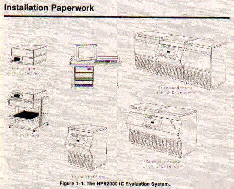 Hp 82000 Ic Evaluation System Models D40 D50 D100 D100x
