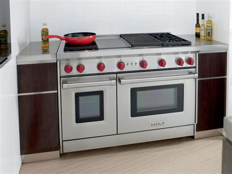 wolf electric range pictures to wolf 48 quot gas 4 burner range stainless steel natural gas gr484cg gas ranges and electric