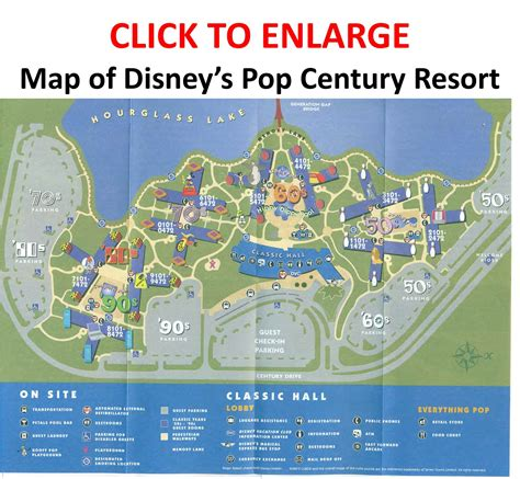 pop century resort map review disney s pop century resort page 3 yourfirstvisit net